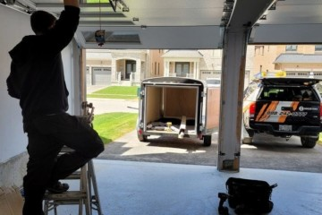 10 Step Guide of How to Install A Garage Door