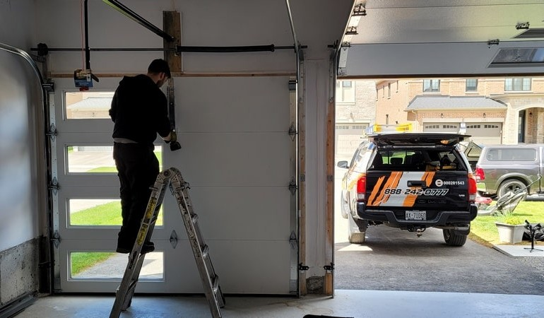 8 Steps Guide of How to Install a Roll Up Garage Door
